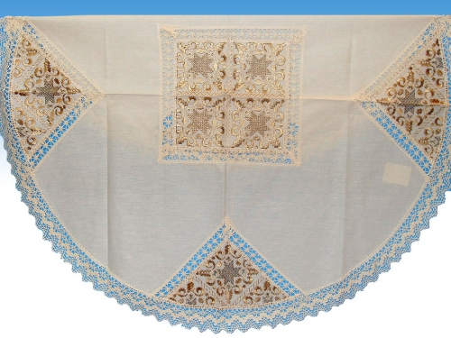 Linen rotonda tablecloth