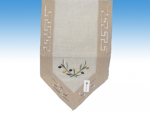 Linen runner tablecloth