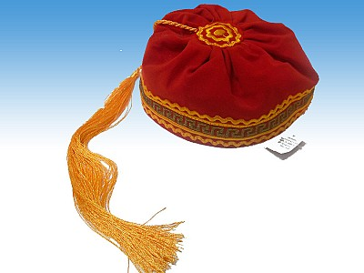 Red Traditional hat - Greek souvenirs