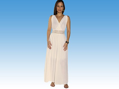 Long Crisscross Dress - Greek souvenirs
